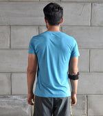 Men's WOD 14 T-shirt (Dodger Blue) - wodarmour