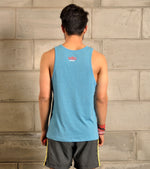 Men's Running Tank Top (Dodger Blue) - wodarmour