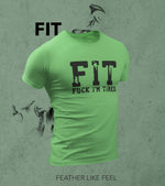Men's FIT T-Shirt (Mint Green) - wodarmour