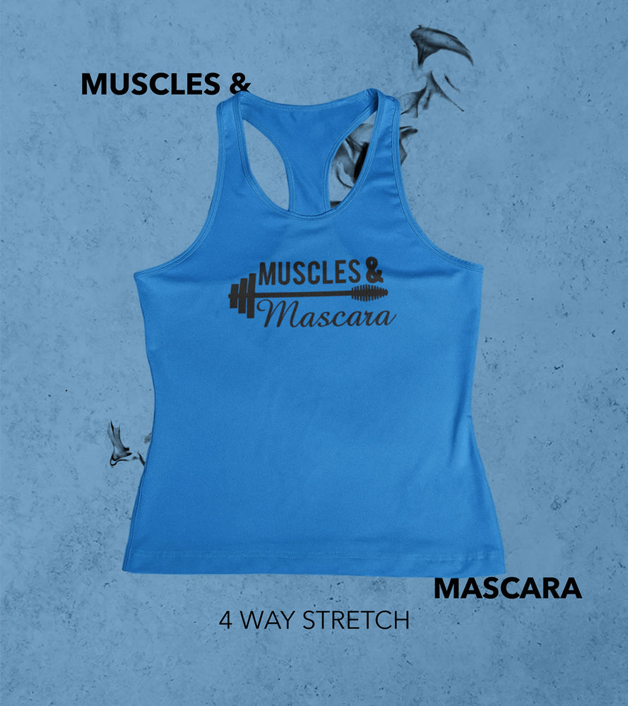 Women's Muscle and mascara tank