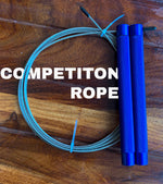 Competition speed rope