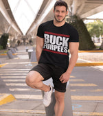 Men's Buck Furpees training T-shirt (Black) - wodarmour