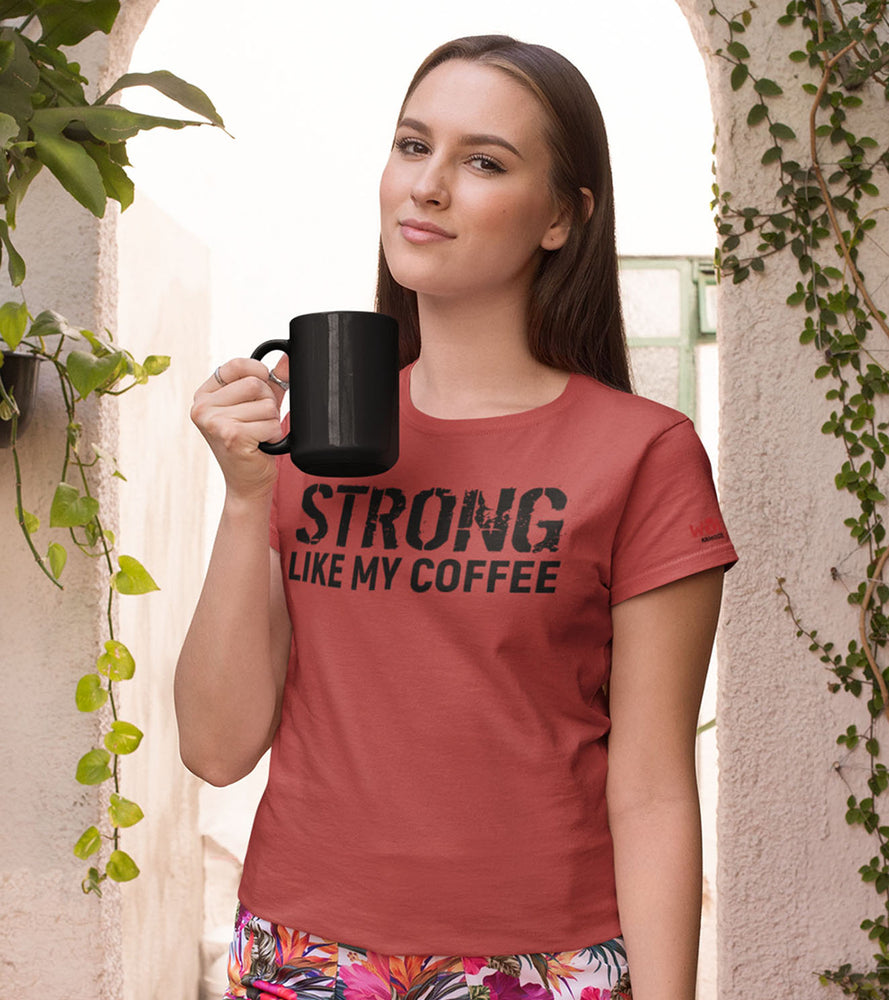 Women's SLMC  T-shirt (Crimson Red) - wodarmour