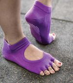 Yoga socks For Balance and Stability (purple)