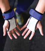 2 in 1 WOD Grips with wrist support and Palm Protection