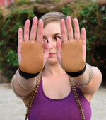3 finger Gymnastic Gloves