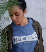Women's Hustle harder T-shirt (Old Navy) - wodarmour
