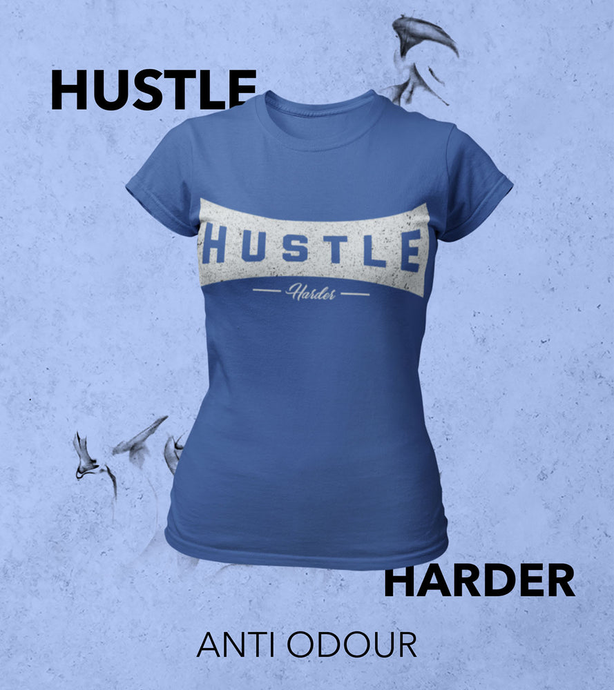 Women's Hustle harder T-shirt (Old Navy)