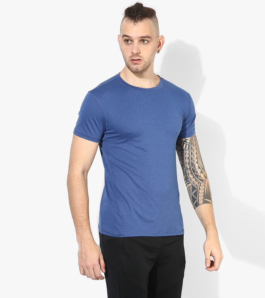 Men's DRY- Fit Blue  T-shirt - wodarmour