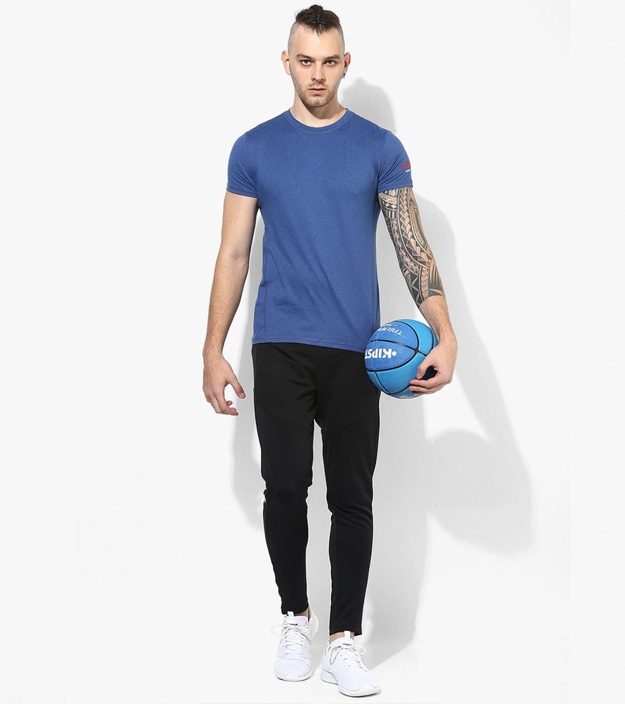 Men's DRY- Fit Blue  T-shirt