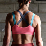 Padded High impact workout sports bra - wodarmour