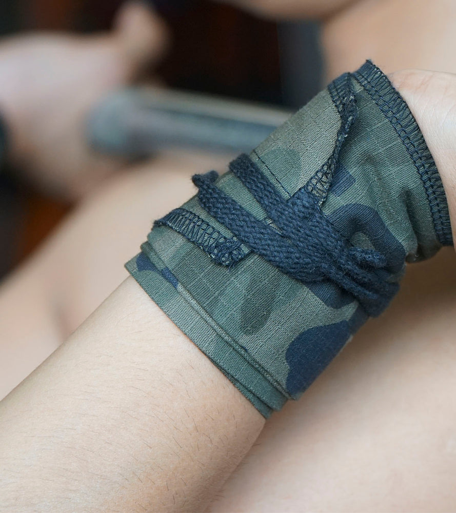 Wrist Strength Wraps (Camouflage) - wodarmour