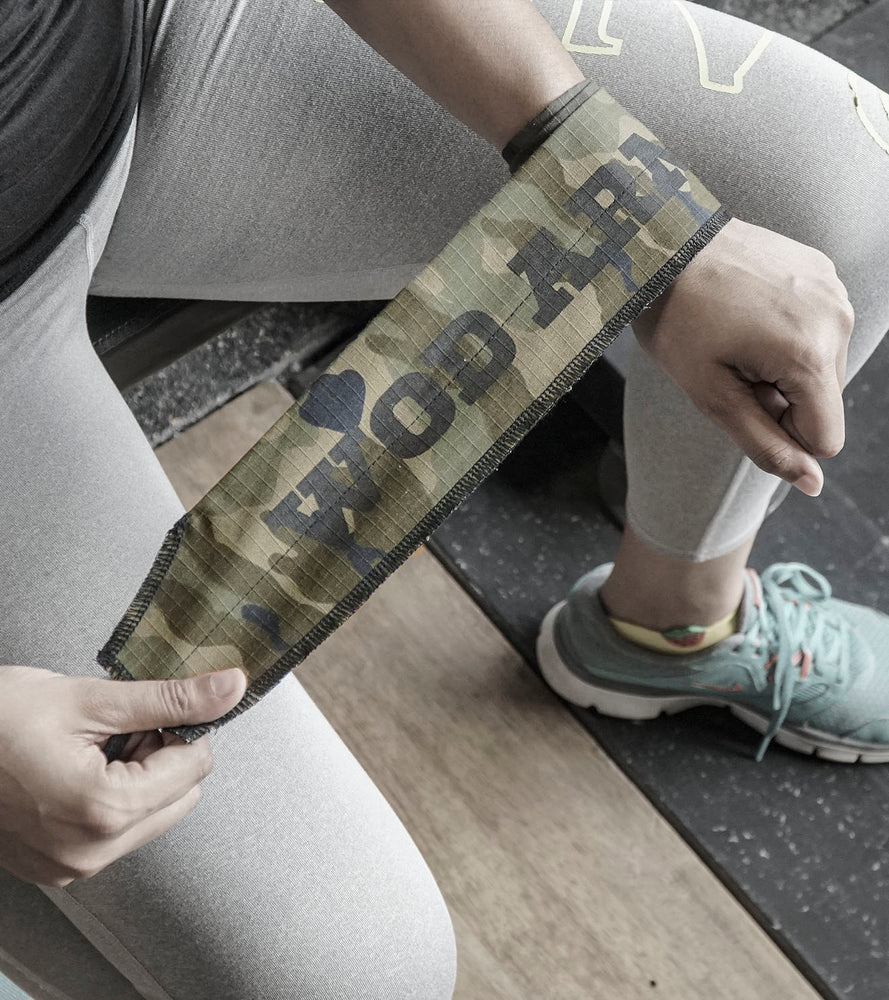 Wrist Strength Wraps (Camouflage)