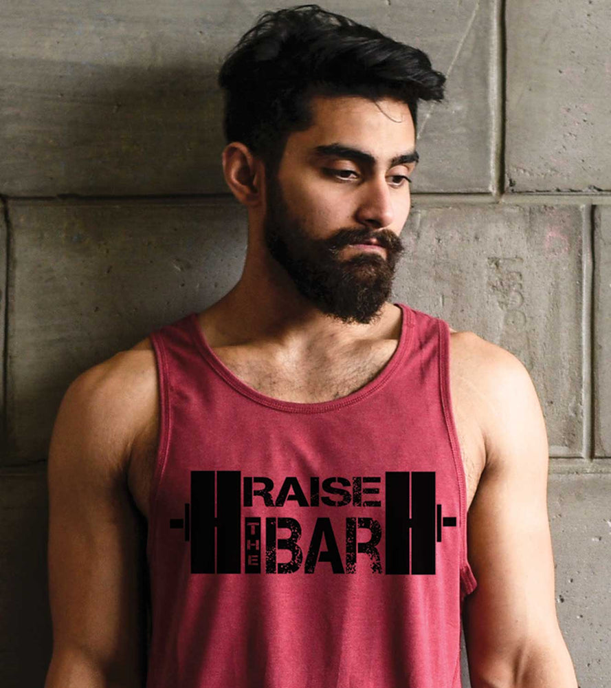 Men's Raise The Bar Tank - wodarmour