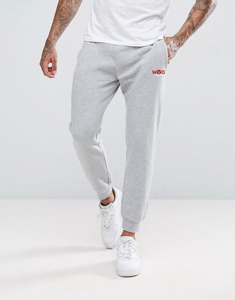 MEN'S GREY TRACK PANTS - wodarmour