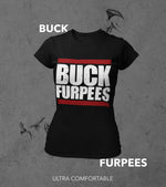 Women's Buck Furpees Tshirt (Black)