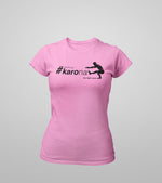 Women's  Karona workout T-shirt (Pink) - wodarmour