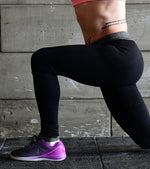 Power Flex Yoga Pants (Black) - wodarmour