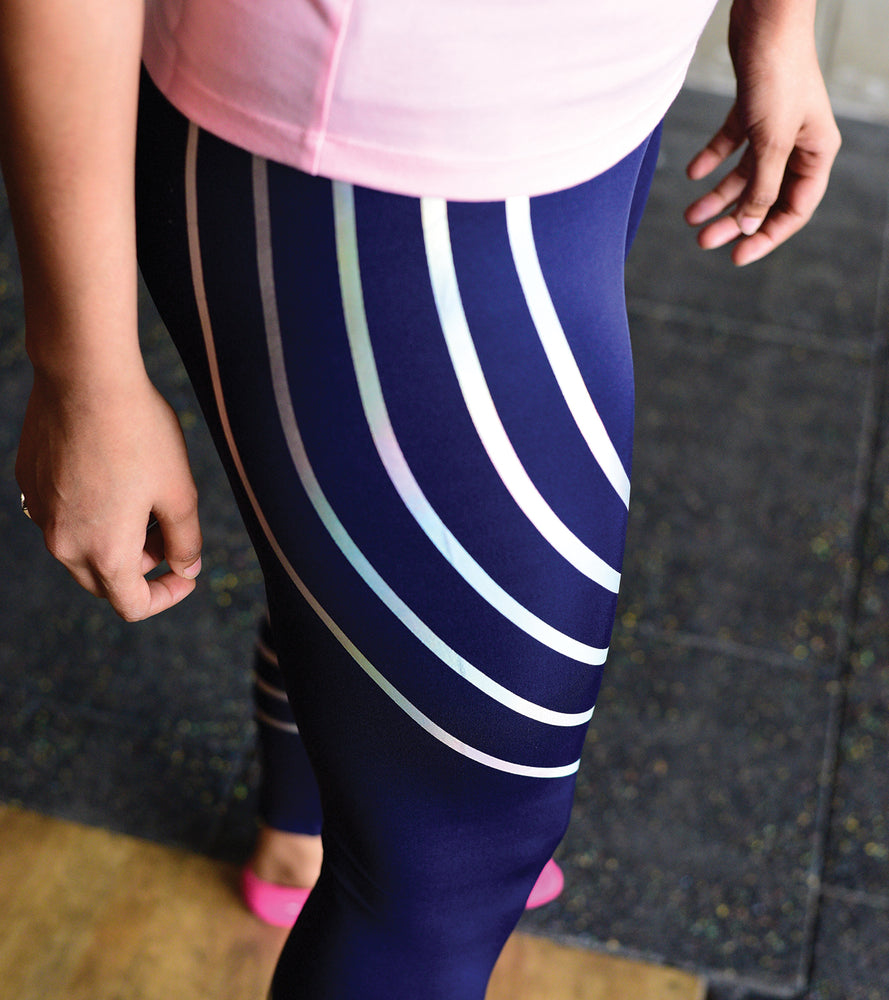 Women's Night Run Yoga Pants - wodarmour
