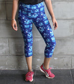 Yoga Pants floral - wodarmour