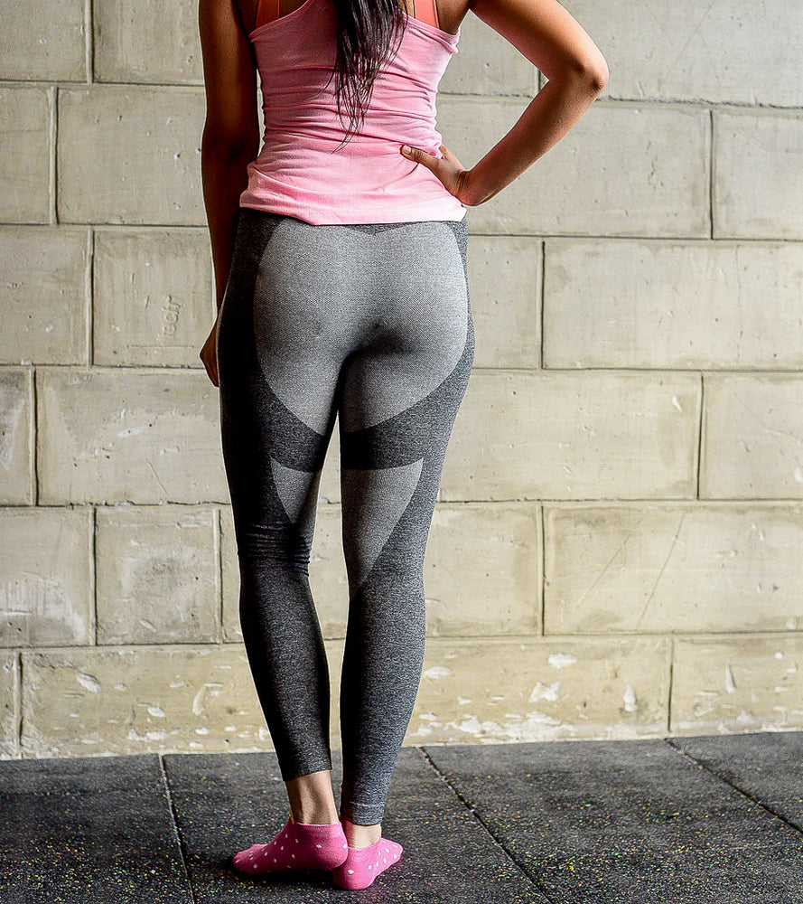 Grey Seamless yoga pants