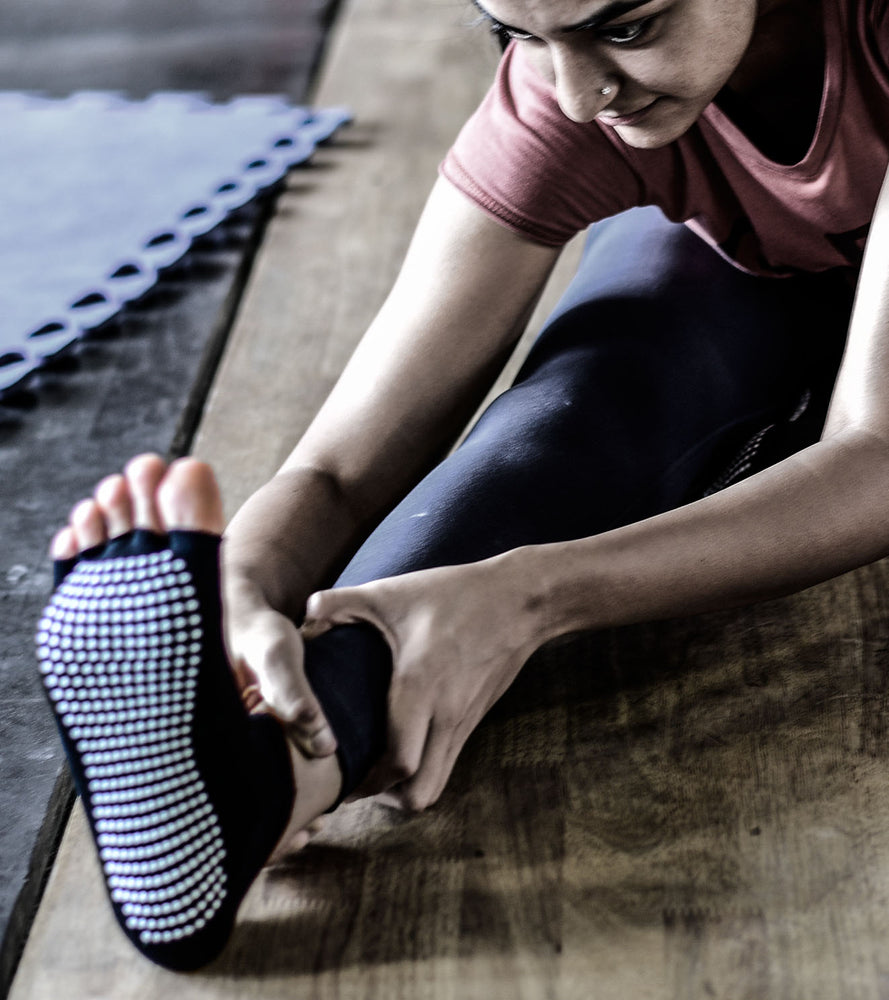 Yoga Socks - For Better Balance and Stability - wodarmour
