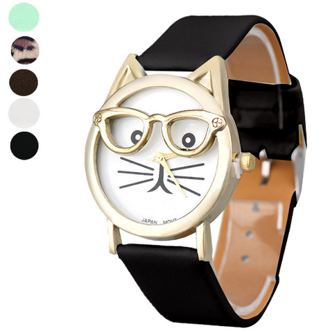 Luxury Cat Women Watch