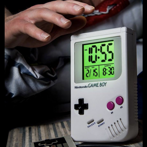 Game Boy Alarm Clock