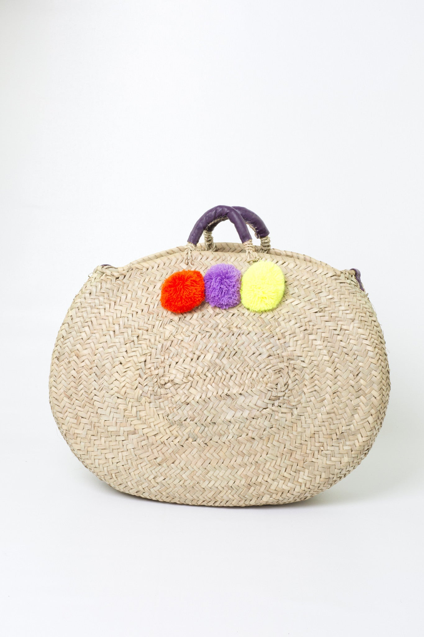 Oversized New York Pompom Shopper