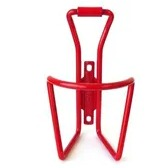 BIDON CAGE - Pro Series, Alloy, Heavy Duty, 6.2mm Diameter, Welded Mount, Red