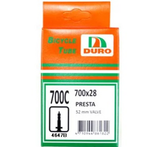 DURO TUBE 700 x 25/28C F/V 52mm
