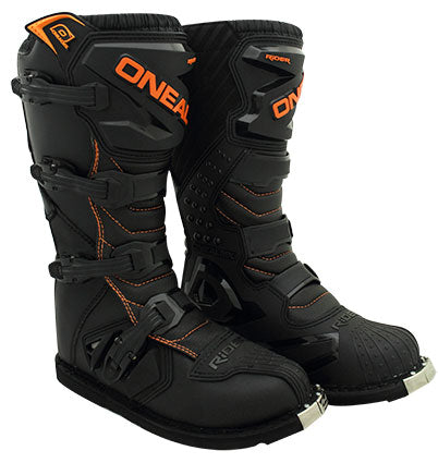 ONEAL 2018 RIDER BOOTS BLACK/ORANGE YOUTH