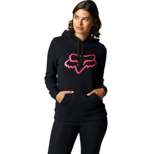 BOUNDARY PULLOVER FLEECE BLACK PINK