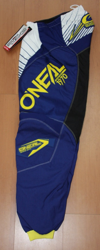 ONEAL ELEMENT R/WEAR PANT BLUE/YELLOW ADULT 30