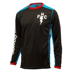 FASTHOUSE FH CREW L1 JERSEY ELECTRIC BLUE/ BLACK MEDIUM