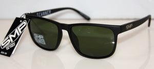 SCANNER MATT BLACK-GREEN POLARIZED
