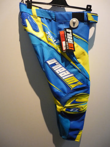MAYHEM PANT BLUE/YELLOW SZ:34