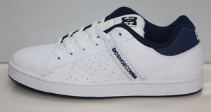 WAGE WHITE/ NAVY MENS SHOE, White, 8