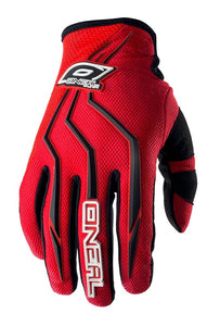 ONEAL ELEMENT GLOVE RED YOUTH 3/4 (SM)