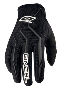 ONEAL ELEMENT GLOVE BLACK YOUTH 3/4 (SM)