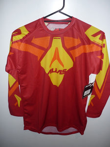 A2 Jersey Youth Red/ Yellow, Red, k12/lg