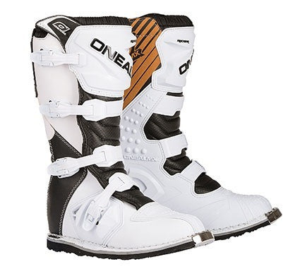 ONEAL 2016 RIDER BOOTS WHITE/BLACK ADULT 10