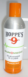 GUN MEDIC CLEANER AND LUBE 10oz HOPPES