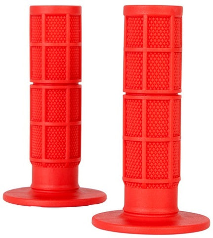 ONEAL MX PRO GRIPS HALF WAFFLE - RED