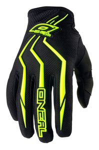ONEAL ELEMENT GLOVE HI VIZ/BLACK ADULT 12