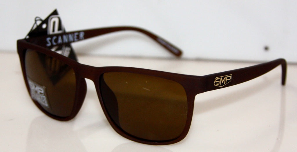 SCANNER BROWN SOFT TOUCH-BROWN POLARIZED