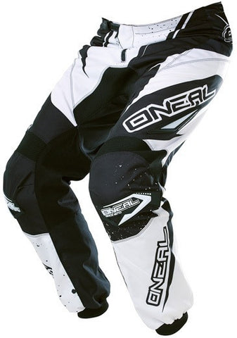 ONEAL ELEMENT R/WEAR PANT BLACK/WHITE ADULT 32