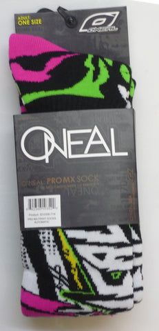 ONEAL PRO MX PRINT SOCKS - AUTOMATIC