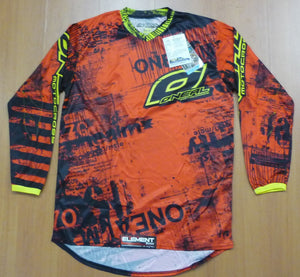 ONEAL ELEMENT TOXIC JERSEY RED/YELLOW ADULT XL