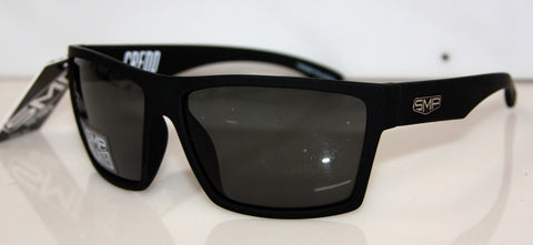 CREDO MATT BLACK SOFT TOUCH-GREY POLARIZED